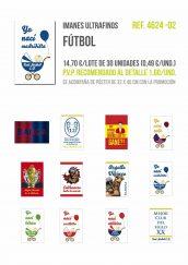 Imanes ultrafinos de diferentes temáticas Fútbol