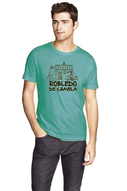 camisetas de algodón a una tinta