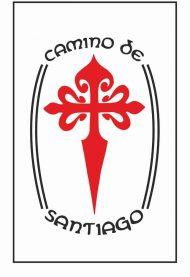 Imán ultrafino a todo color del Camino de Santiago