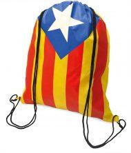 Bolsa mochila cuerdas Catalunya Independentista